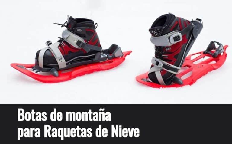 Bota Montaña Raqueta Nieve