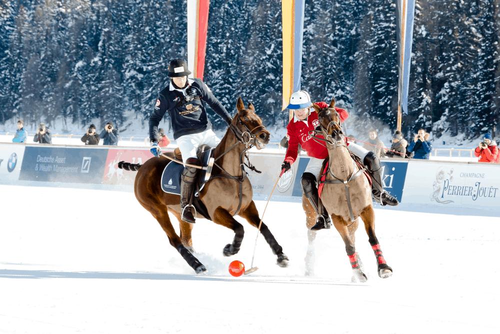 Pelota o Bocha en Snow Polo