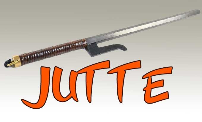 espada ninja jutte