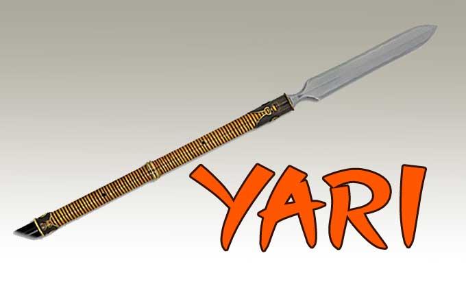 lanza japonesa
