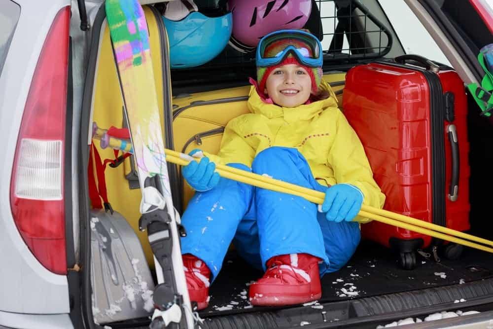 bolsas para botas de esqui y casco