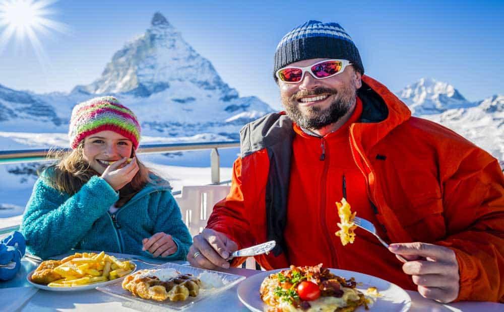 dieta de esquidores