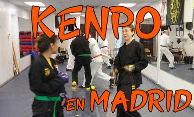 clases de karate kenpo en madrid