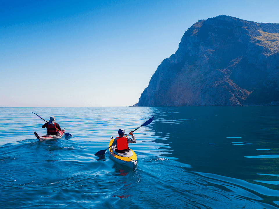 palas para kayak de mar