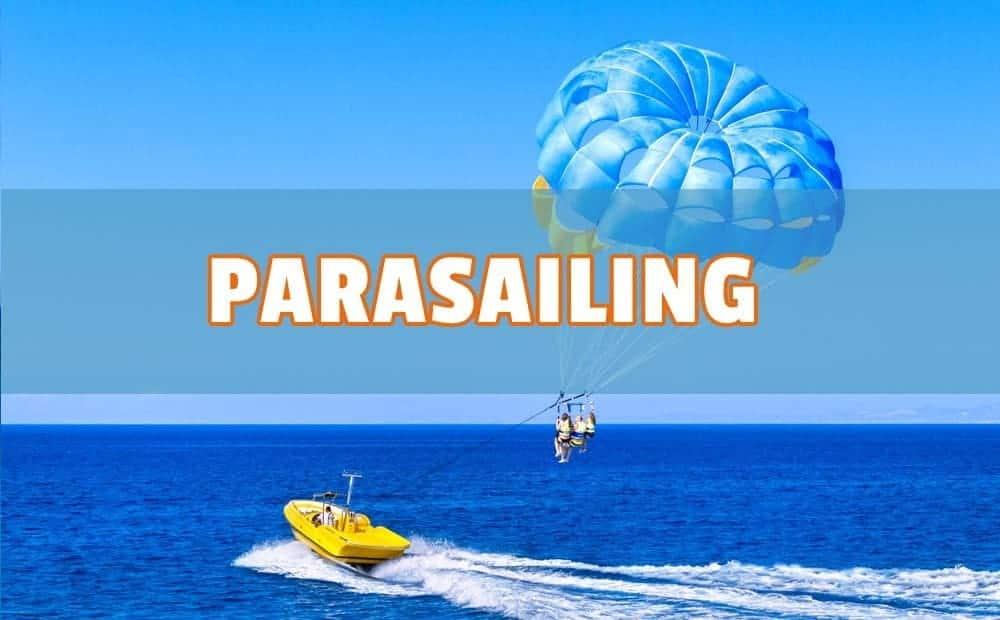 parasailing en españa