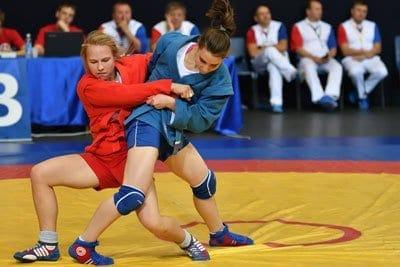 lucha rusa sambo mujeres