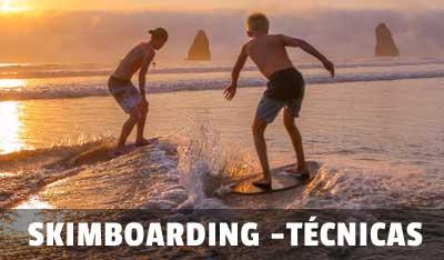 como aprender skim boarding