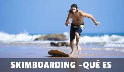 que es skim boarding