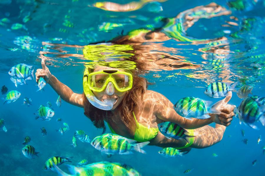 snorkel decathlon