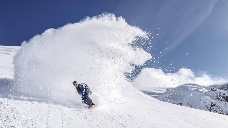 Snowboard deportes de invierno