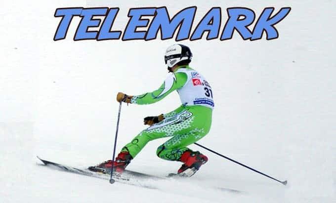 telemark esqui