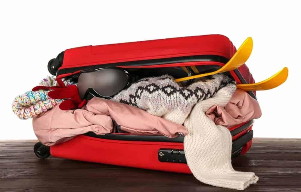transporte de equipamiento de esqui