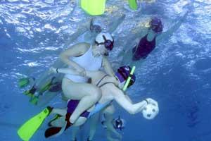 rugby subacuatico